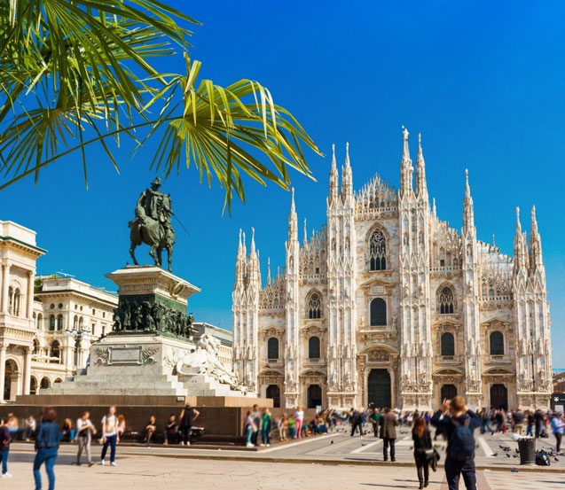 Visit Milan in Italy